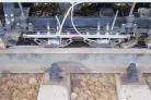Следящая система, установленная на вагоне-дефектоскопе